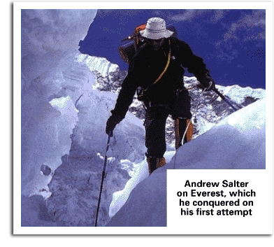 Andy Salter on Everest