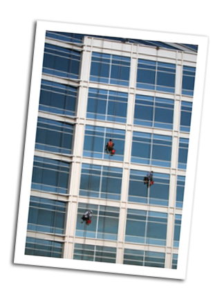 Abseiling Team at Work